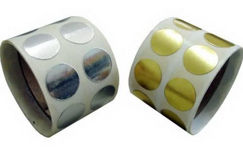 Lacre adesivo transparente