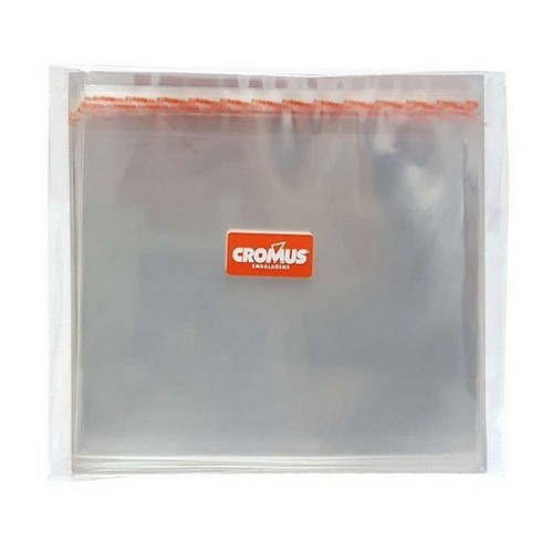 saco adesivado transparente cromus