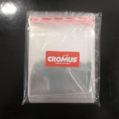 saco plástico adesivado cromus