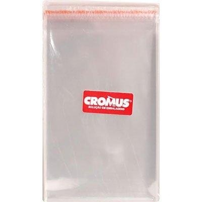 saco plástico com adesivo cromus