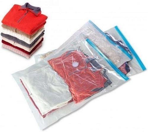 Saco plástico para roupas